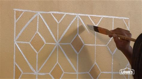 create  faux hand painted tile backsplash youtube