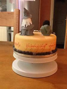 Lord Of The Rings Birthday Cake - CakeCentral com