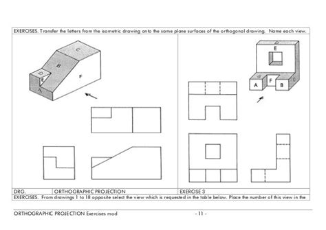 isometric drawing exercises  answers google search