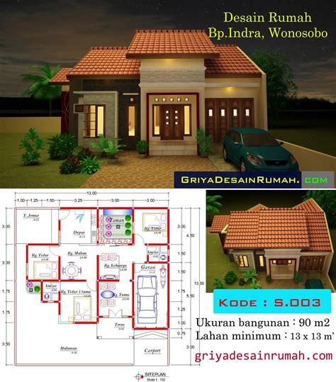 gambar desain rumah minimalis satu lantai
