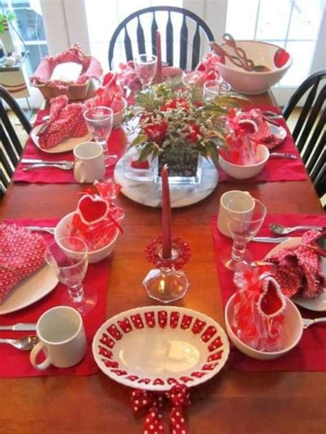 A rustic, burlap table runner won't look good under an elegant vase filled with a dozen red roses. 25 Elegant Valentines Decorations Ideas You Can't Miss ...