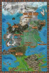 Kingdoms Westeros Map and Cities