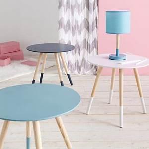 Table Basse Scandinave Bleu : table basse mileo style scandinave pas cher prix auchan ~ Teatrodelosmanantiales.com Idées de Décoration