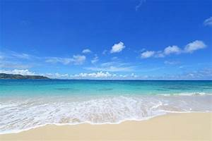 summer beach blue sea shore paradise sand sea beach beach ...