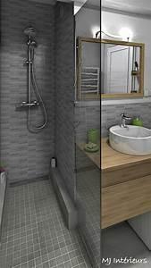Douche À L Italienne Moderne : une douche l 39 italienne a remplac la baignoire salle de ~ Voncanada.com Idées de Décoration