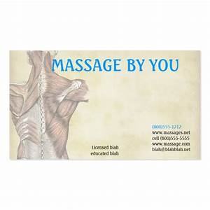 Massage therapist business card template zazzle for Massage therapy business card templates free