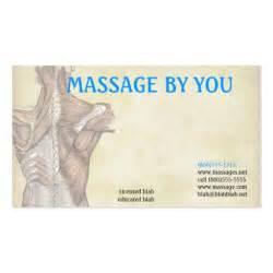 Massage therapist business card template zazzle for Massage therapy business card templates