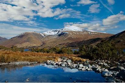 Mountain England Highest Scafell Pike Lake District