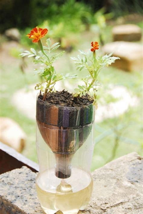 diy  watering seed starter pot planter