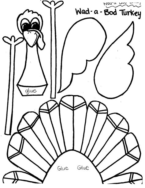 printable thanksgiving crafts  activities  kids