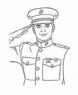 Coloring Armed Forces Marine Sheets Pages Uniform Activity Military Printable Corps Dress sketch template