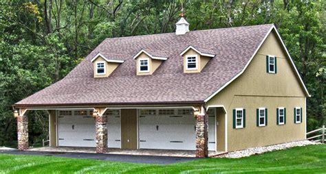 2 Car Garages Builtonsite  Horizon Structures