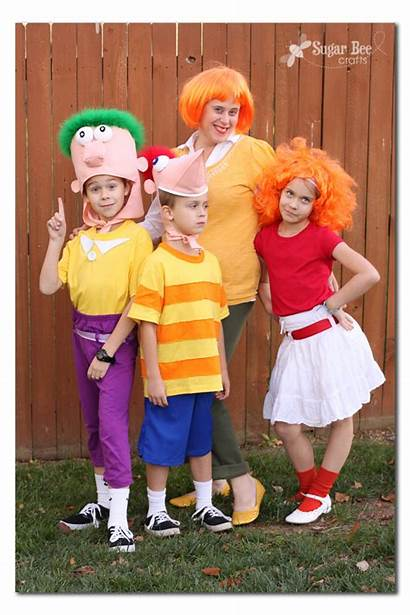 Ferb Phineas Costume Costumes Halloween Diy Crafts