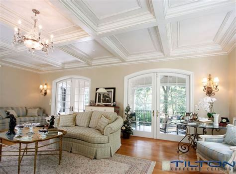 tilton coffered ceilings inc 13 gorgeous rooms with custom coffered ceilings by