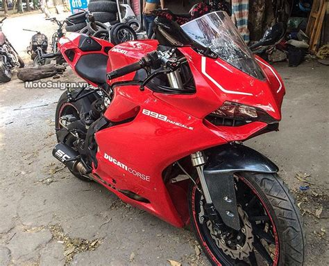 Vietnamese Turn The Benelli Tnt 300 Into A Ducati Panigale