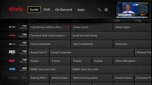 Xfinity Tv On The X1 Platform And X1 Remote Control App