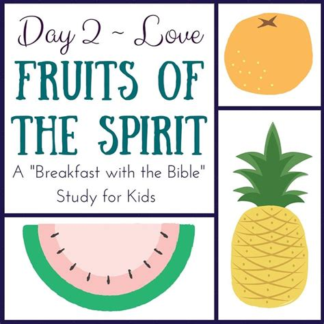 17 Best Images About Fruit Of The Spirit On 17 Best Images About Bible Lessons The Fruit Of The
