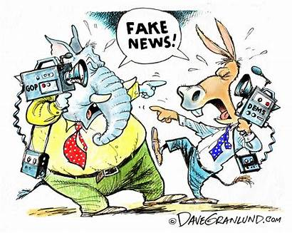Fake Cartoon Granlund Dave Partisan Politics Cartoons