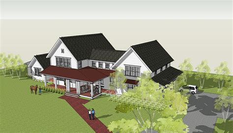 farmhouse plans brenner architects modern farmhouse design completed