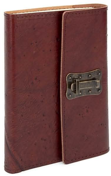barnes and noble journals wood textured brown italian leather journal with lock 6