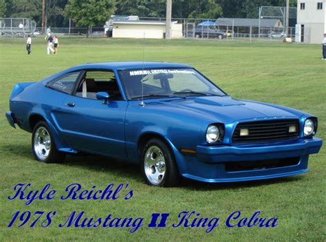 1978 Mustang Ii by 1978 Ford Mustang Ii Cobra Related Infomation