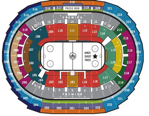 staples center la kings seating chart amulette