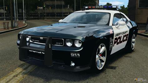 Dodge Challenger Police Car, Dodge Charger Police Car