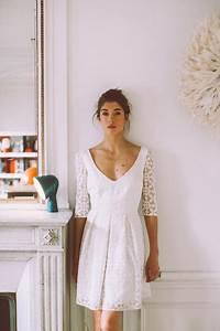 Tenue Pour Mariage Civil : tenue robe mariage civil ~ Nature-et-papiers.com Idées de Décoration