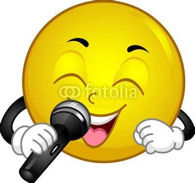 singing emoji sing to me baby py 246 reit 228 naamoja smileys stock photos and happy