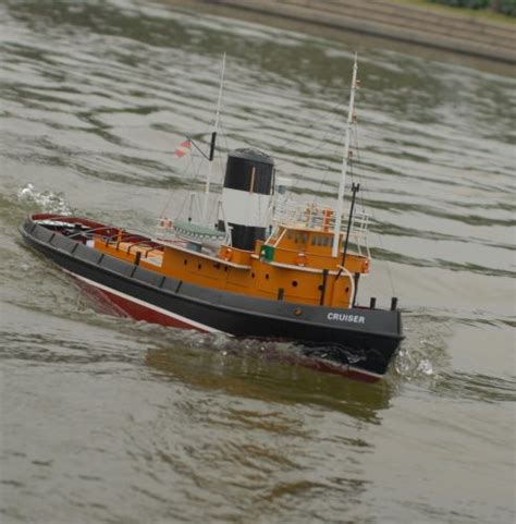 Rc Tug Boat by Rc Harbor Tug Boat Ready To Run The Scale Modeler