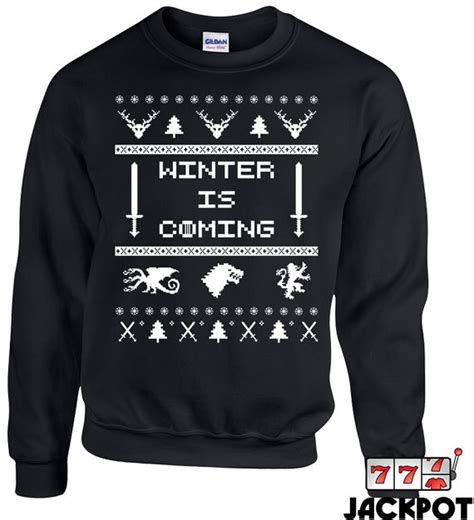 winter is coming sweater unavailable listing on etsy