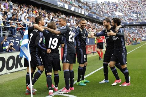 Real Madrid finish the job on the final day at Malaga ...