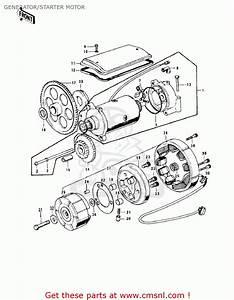 Generator  Starter Motor Schematic