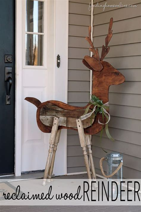 wooden outdoor christmas decorations woodworking