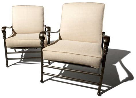 strathwood patio furniture cushions strathwood st seat motion chair with cushions