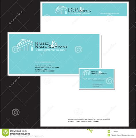 business stationery  card stock  image