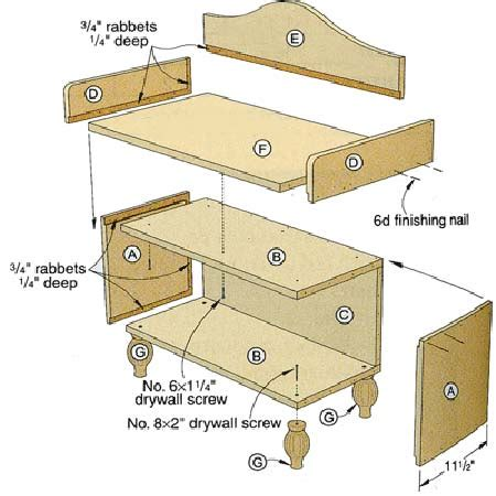 myplan woodworking plans entryway bench