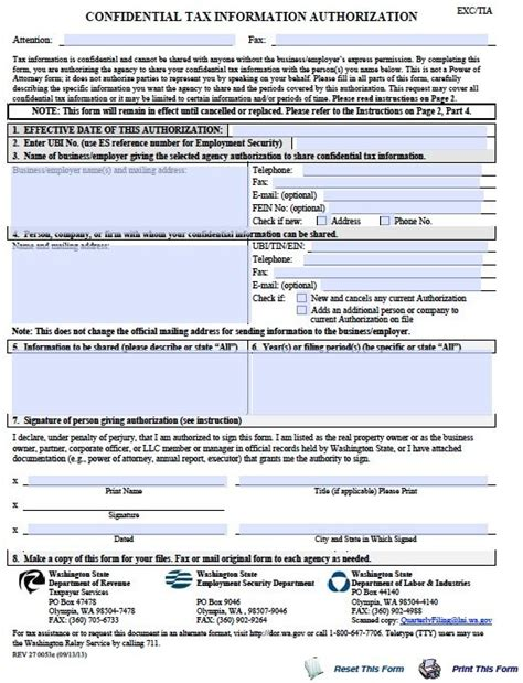 power of attorney form washington state free tax power of attorney washington form pdf