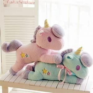 Aliexpress.com : Buy 55cm Unicorn Plush Toy Cute Animal ...