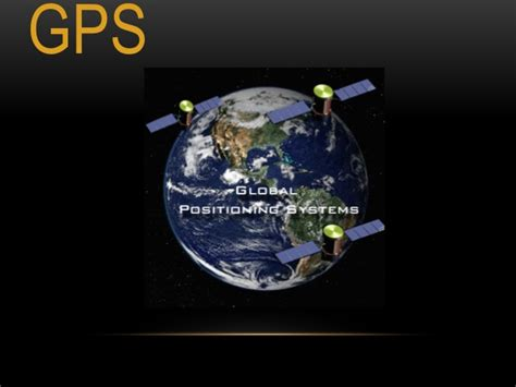 The Global Positioning System (gps