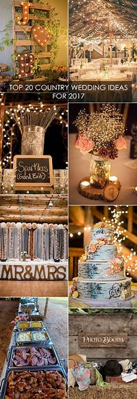 trending patio table decor ideas Top 20 Country Wedding Ideas You'll Love for 2018 Trends ...