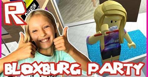 bloxburg  ready   party roblox youtube