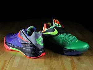 NIKE ZOOM KD IV – NERF VS. WEATHERMAN COMPARISON – Foot ...