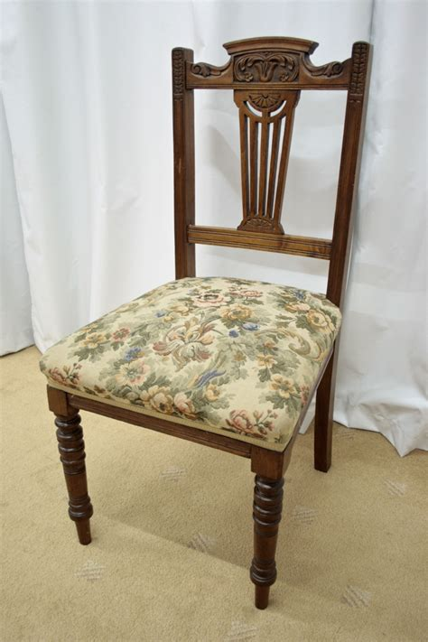 Dining Chairs For Sale by Six 19th Century Walnut Dining Chairs For Sale Antiques