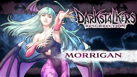 darkstalkers resurrection morrigan aensland youtube