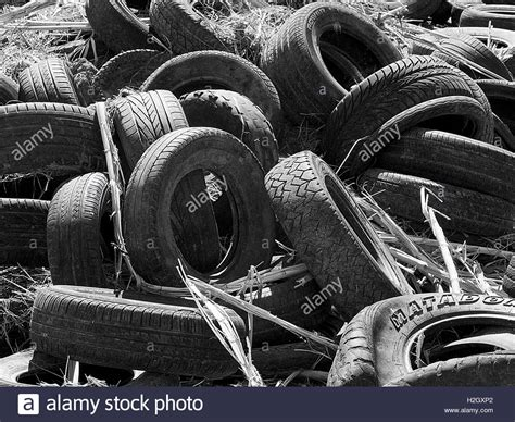 Old Car Tyres Stock Photos & Old Car Tyres Stock Images