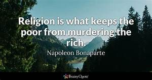 Poor Quotes - B... Poverty And Religion Quotes