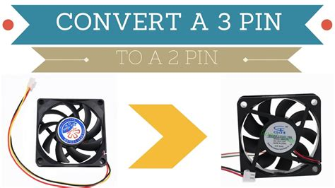 Pc Cooling Fan Wiring Diagram by How To Convert A 3 Pin Into A 2pin Fan