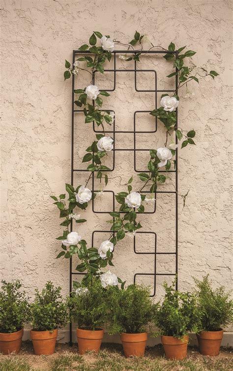 10 Ft Trellis by Garden Treasures 1 Ft X 4 Ft Zen Garden Trellis Gardens