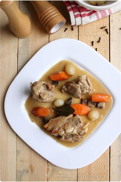 cuisiner blanquette de veau 17 best images about recettes viande veau on